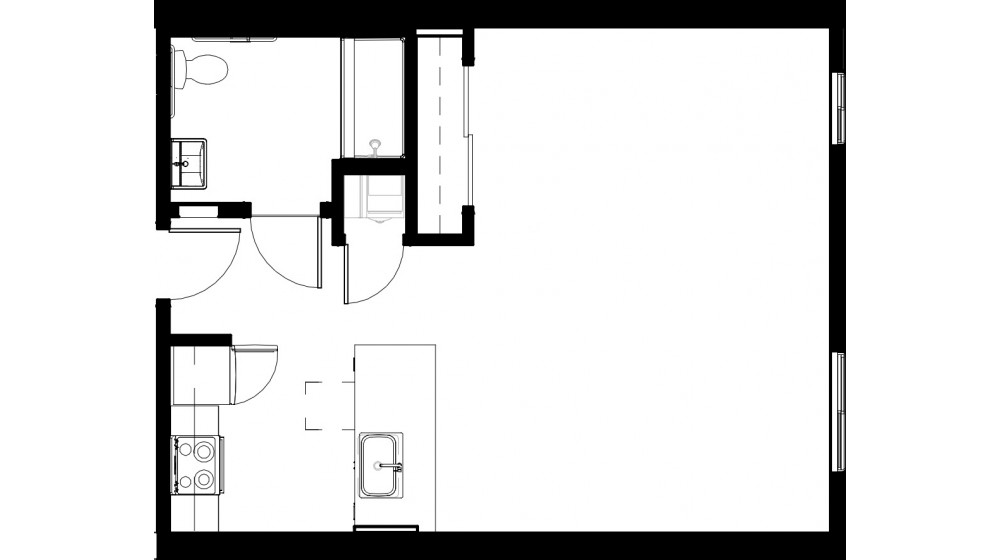 First Floor Plan Noble Lofts Live In The Rich History